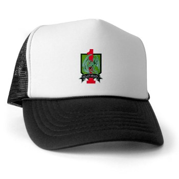 4HBCTDB - A01 - 02 - DUI - 4th HBCT - Dragon Brigade Trucker Hat