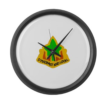 4ID - M01 - 03 - DUI - 4th Infantry Division Large Wall Clock
