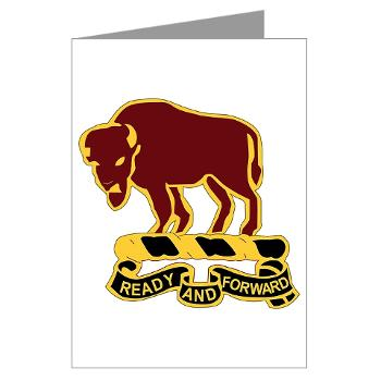 4S10CR - M01 - 02 - DUI - 4th Sqdrn - 10th Cavalry Regt - Greeting Cards (Pk of 10)
