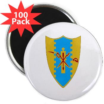 "4S4CR - M01 - 01 - DUI - 4th Squadron - 4th Cavalry Regt - 2.25"" Magnet (100 pack)"