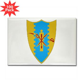 4S4CR - M01 - 01 - DUI - 4th Squadron - 4th Cavalry Regt - Rectangle Magnet (100 pack)