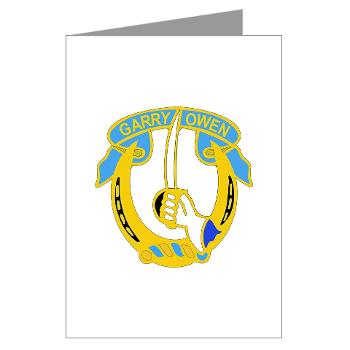 4S7CR - M01 - 02 - DUI - 4th Sqdrn - 7th Cavalry Regt - Greeting Cards (Pk of 10)