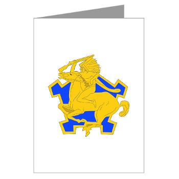 4S9CR - M01 - 02 - DUI - 4th Squadron - 9th Cavalry Regiment - Greeting Cards (Pk of 10)