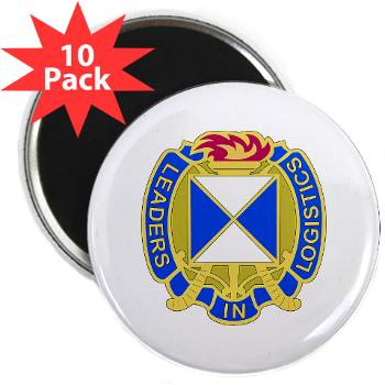"4SC - M01 - 01 - DUI - 4th Sustainment Command 2.25"" Magnet (10 pack)"
