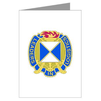 4SC - M01 - 02 - DUI - 4th Sustainment Command Greeting Cards (Pk of 10)