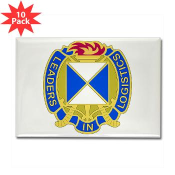 4SC - M01 - 01 - DUI - 4th Sustainment Command Rectangle Magnet (10 pack)