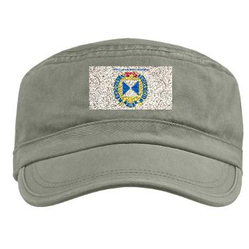 4SC - A01 - 01 - DUI - 4th Sustainment Command with Text Military Cap