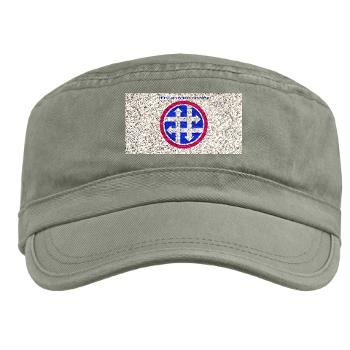 4SC - A01 - 01 - SSI - 4th Sustainment Command with Text Military Cap