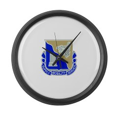 501BSB - M01 - 03 - DUI - 501st Brigade - Support Battalion Large Wall Clock