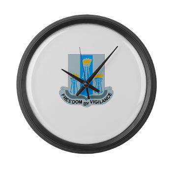 502MIB - M01 - 03 - DUI - 502nd Military Intelligence Bn - Large Wall Clock