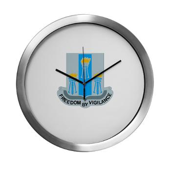 502MIB - M01 - 03 - DUI - 502nd Military Intelligence Bn - Modern Wall Clock