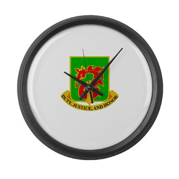 504MPB - M01 - 03 - DUI - 504th Military Police Bn - Large Wall Clock
