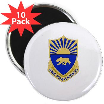 "508MPB - M01 - 01 - DUI - 508th Military Police Bn 2.25"" Magnet (10 pack)"