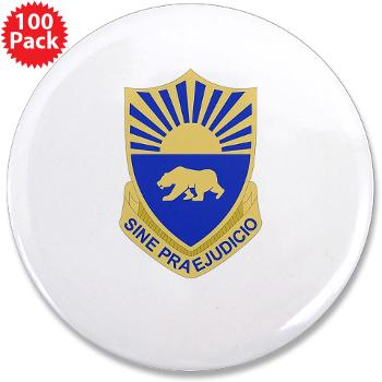"508MPB - M01 - 01 - DUI - 508th Military Police Bn 3.5"" Button (100 pack)"