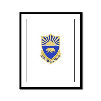 508MPB - M01 - 02 - DUI - 508th Military Police Bn Framed Panel Print