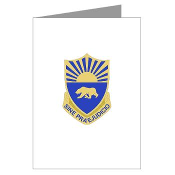 508MPB - M01 - 02 - DUI - 508th Military Police Bn Greeting Cards (Pk of 10)