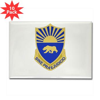 508MPB - M01 - 01 - DUI - 508th Military Police Bn Rectangle Magnet (10 pack)