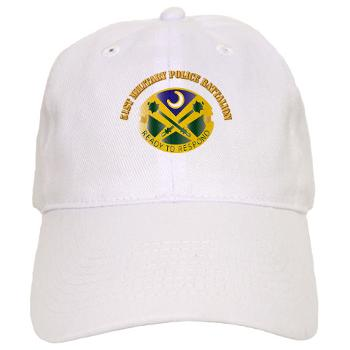 51MPB - A01 - 01 - DUI - 51st Military Police Battalion with Text- Cap
