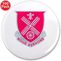 "52EB - M01 - 01 - DUI - 52nd Engineer Battalion 3.5"" Button (100 pack)"