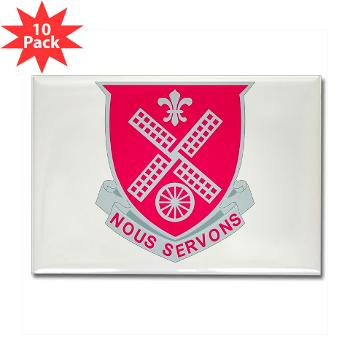 52EB - M01 - 01 - DUI - 52nd Engineer Battalion Rectangle Magnet (10 pack)