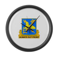 572MIC - M01 - 03 - DUI - 572nd Military Intelligence Coy - Large Wall Clock