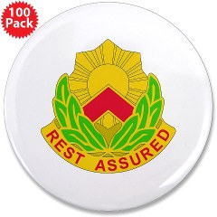 "593SB - M01 - 01 - DUI - 593rd Sustainment Brigade 3.5"" Button (100 pack)"