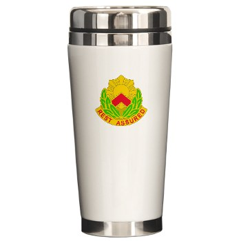 593SB - M01 - 03 - DUI - 593rd Sustainment Brigade Ceramic Travel Mug