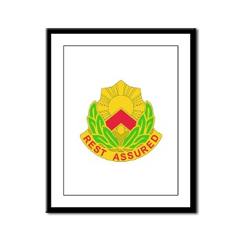 593SB - M01 - 02 - DUI - 593rd Sustainment Brigade Framed Panel Print