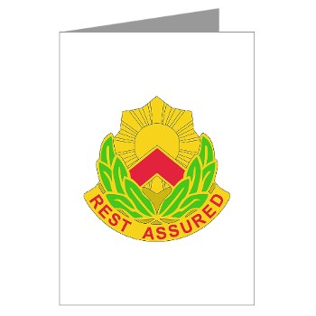 593SB - M01 - 02 - DUI - 593rd Sustainment Brigade Greeting Cards (Pk of 10)