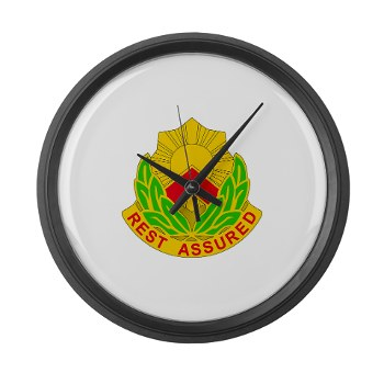 593SB - M01 - 03 - DUI - 593rd Sustainment Brigade Large Wall Clock