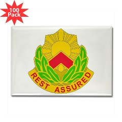 593SB - M01 - 01 - DUI - 593rd Sustainment Brigade Rectangle Magnet (100 pack)