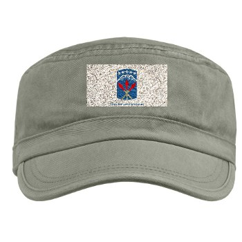 593SB - A01 - 01 - SSI - 593rd Sustainment Brigade with Text Military Cap