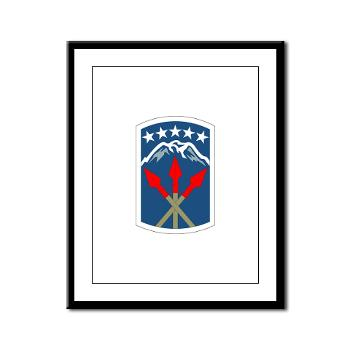 593SB593STB - M01 - 02 - DUI - 593rd Bde - Special Troops Bn - Framed Panel Print