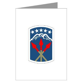 593SB593STB - M01 - 02 - DUI - 593rd Bde - Special Troops Bn - Greeting Cards (Pk of 10)