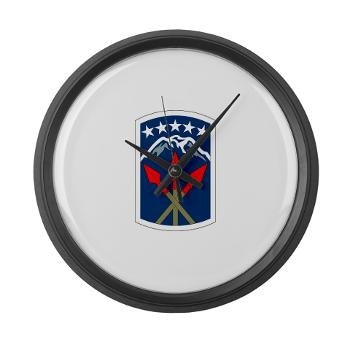 593SB593STB - M01 - 03 - DUI - 593rd Bde - Special Troops Bn - Large Wall Clock