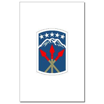 593SB593STB - M01 - 02 - DUI - 593rd Bde - Special Troops Bn - Mini Poster Print