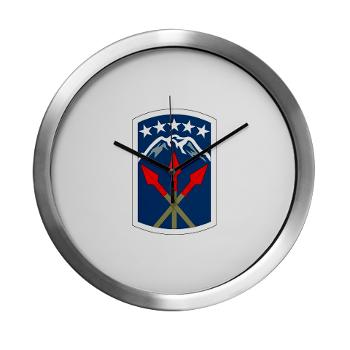 593SB593STB - M01 - 03 - DUI - 593rd Bde - Special Troops Bn - Modern Wall Clock