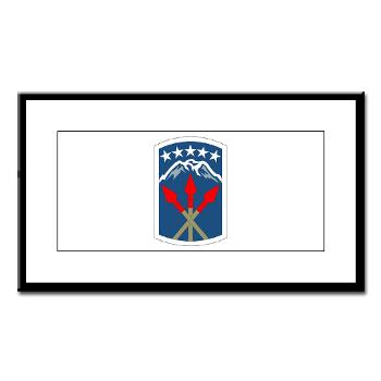 593SB593STB - M01 - 02 - DUI - 593rd Bde - Special Troops Bn - Small Framed Print