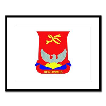 593SB80OB - A01 - 02 - DUI - 80th Ordnance Bn - Large Framed Print