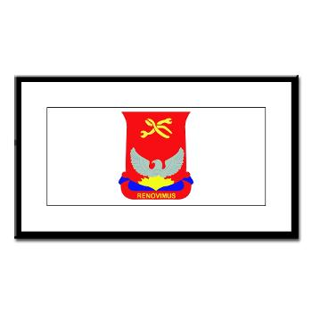 593SB80OB - A01 - 02 - DUI - 80th Ordnance Bn - Small Framed Print