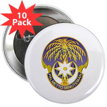 "59TC - M01 - 01 - DUI - 59th Troop Command - 2.25"" Button (10 pack)"
