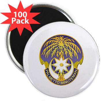 "59TC - M01 - 01 - DUI - 59th Troop Command - 2.25"" Magnet (100 pack)"