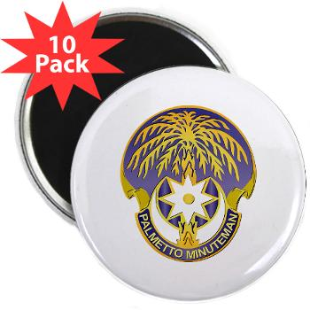 "59TC - M01 - 01 - DUI - 59th Troop Command - 2.25"" Magnet (10 pack)"