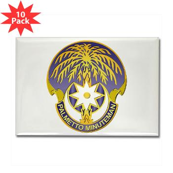 59TC - M01 - 01 - DUI - 59th Troop Command - Rectangle Magnet (10 pack)