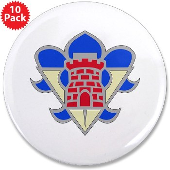 "5AB - M01 - 01 - DUI - 5th Armor Brigade - 3.5"" Button (10 pack)"
