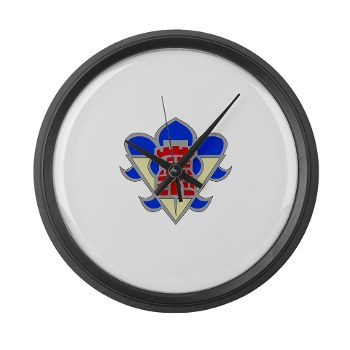 5AB - M01 - 03 - DUI - 5th Armor Brigade - Large Wall Clock