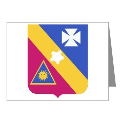 5B20IR - M01 - 02 - DUI - 5th Battalion - 20th Infantry Regiment Note Cards (Pk of 20)