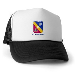 5B20IR - A01 - 02 - DUI - 5th Battalion - 20th Infantry Regiment with text Trucker Hat