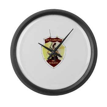 5MRB - M01 - 03 - DUI - 5th Medical Recruiting Bn - Large Wall Clock