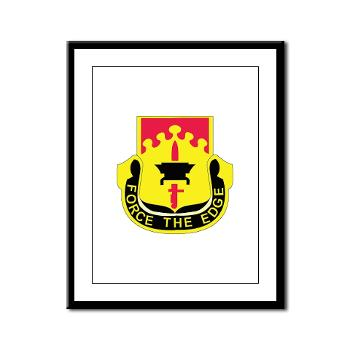 615ASB - M01 - 02 - DUI - 615th Aviation Support Battalion - Framed Panel Print